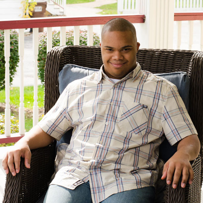 Brice - individual with Down syndrome