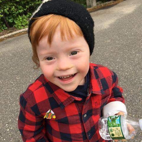 Leon - boy with Down syndrome